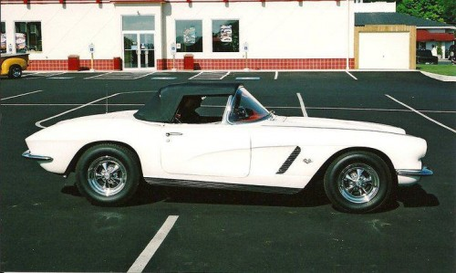 Glen & Connie 62 Corvette